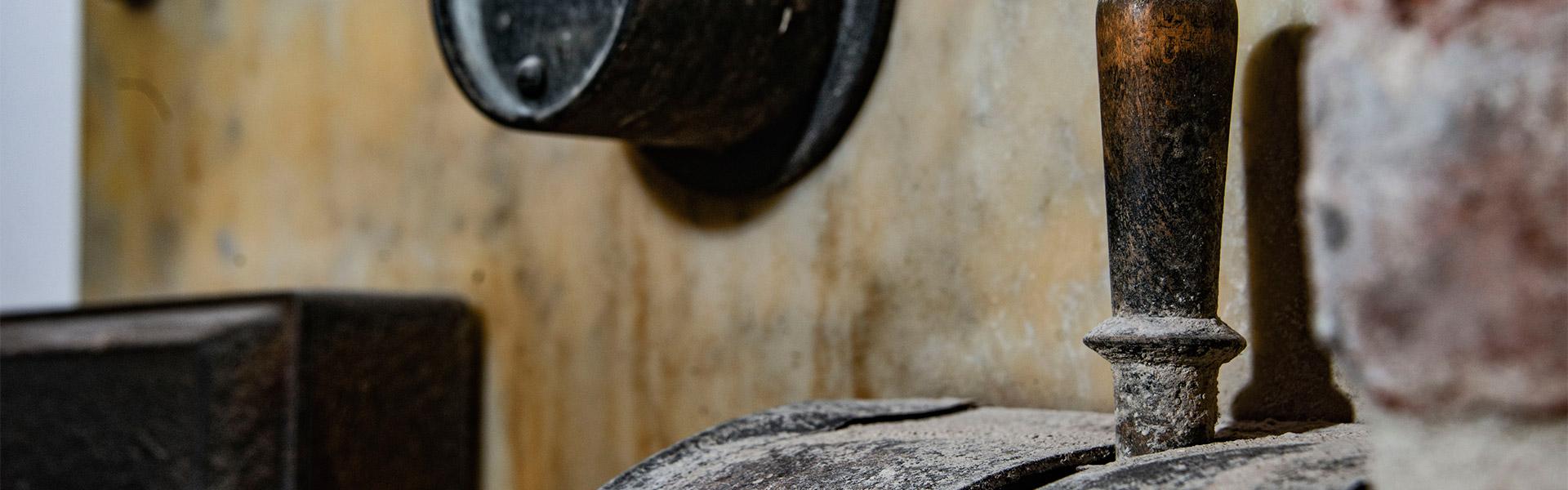 Mulino storico legna